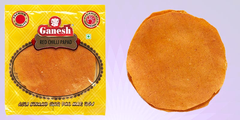 Red Chilly Papad