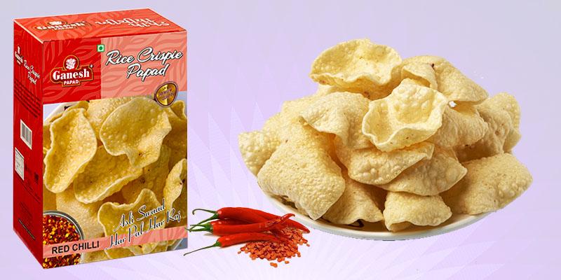 Ganesh Papad - 2nd largest brand across India